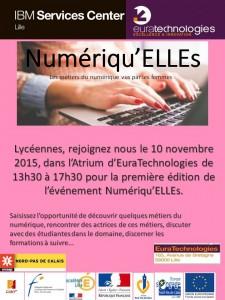 Affiche Numériqu-ELLEs